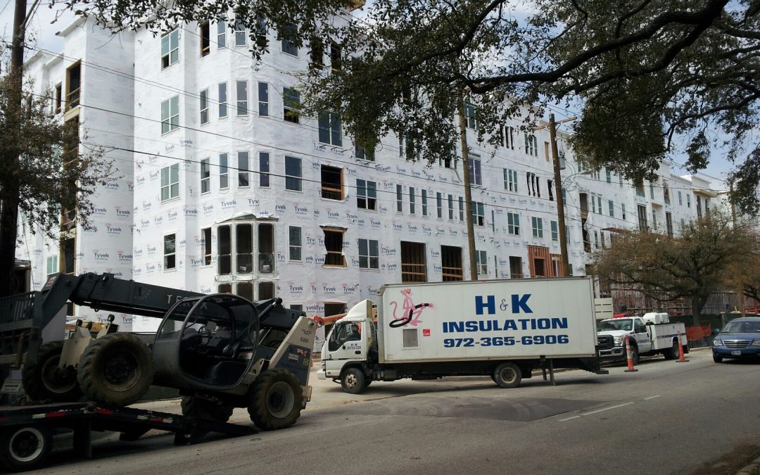 HK Insulation Project Multifamily Dallas Texas